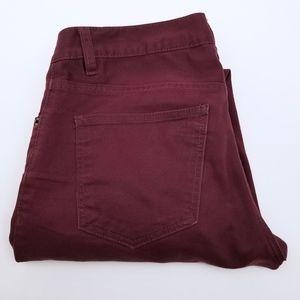 H&M Burgundy Jeans Men